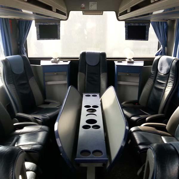 Reisebus Behme Warstein Innenausstattung